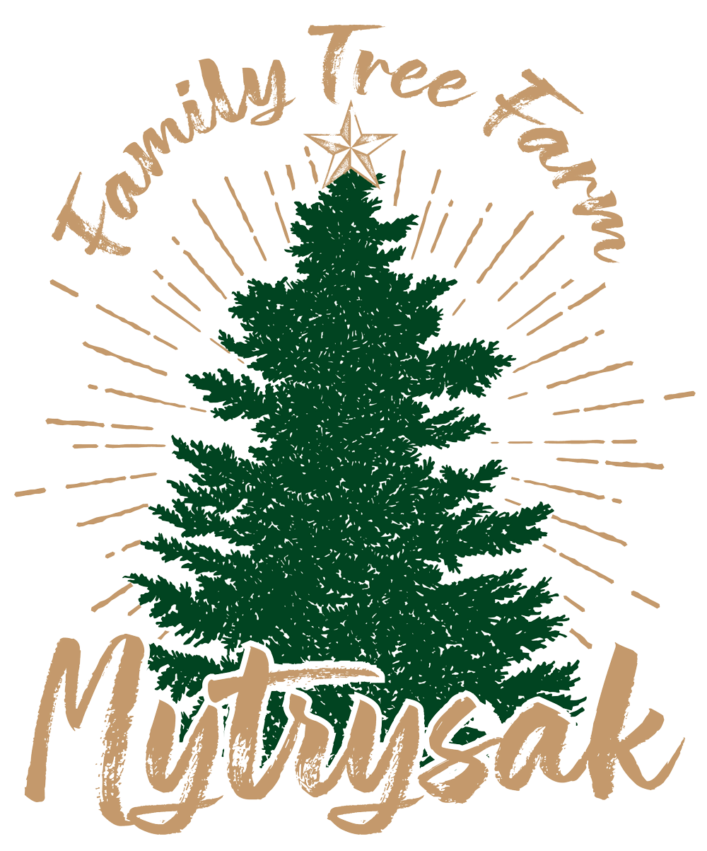 Mytrysak Family Tree Farm Logo